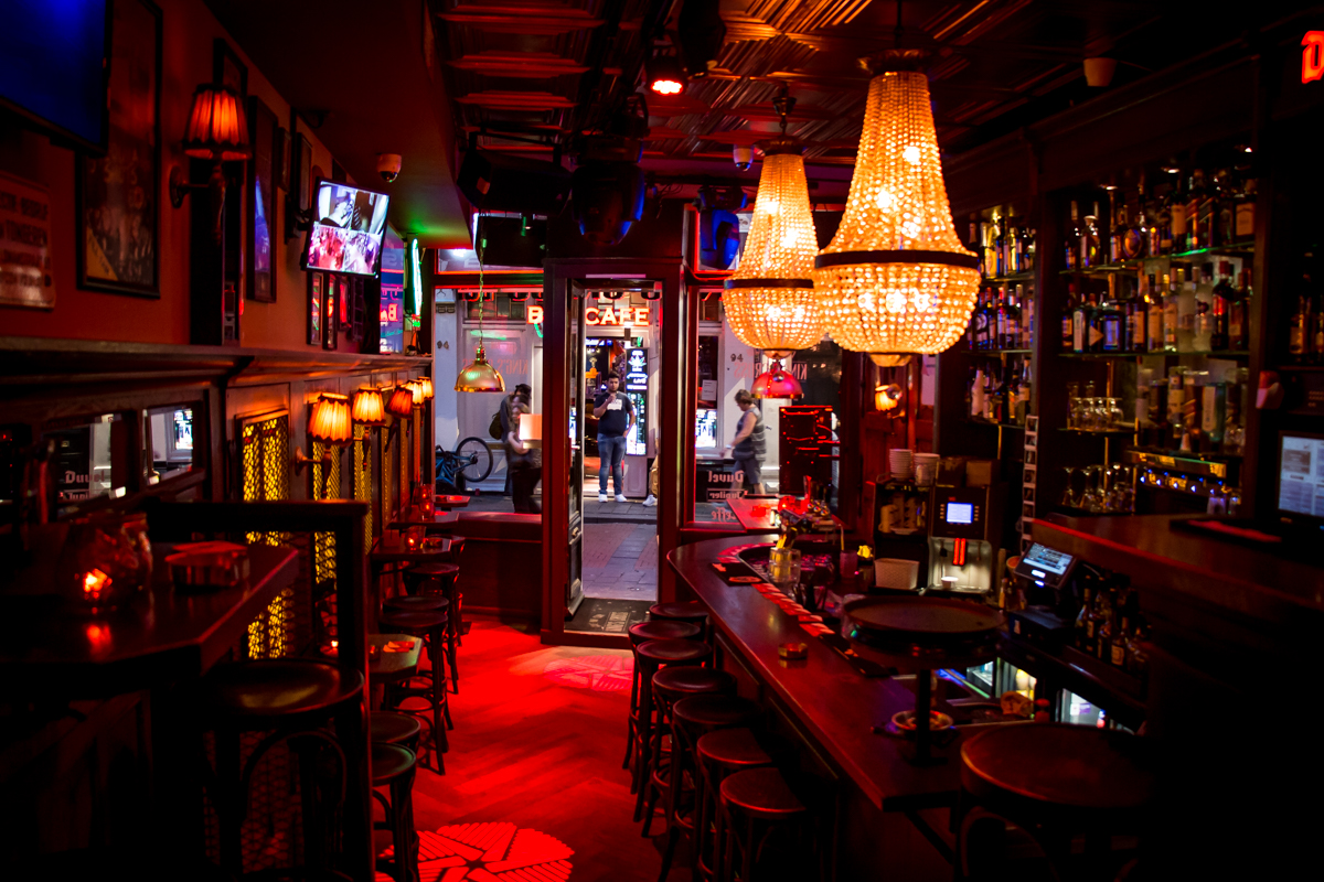King´s Cross Coffee Bar Club in Amsterdam